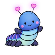 220x220 Inchworm Fluff Favourites Kawaii, Drawings And Doodles
