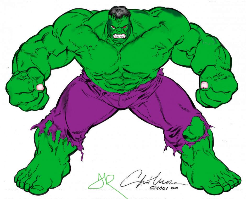 940x760 Incredible Hulk Colored By Pixel Penz By Pixelpenz