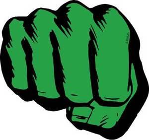 300x282 Marvel Comics The Incredible Hulk Fist Chunky Magnet Ebay