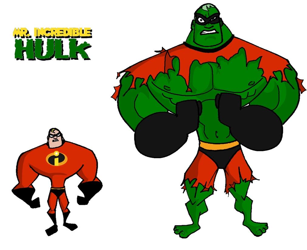 1011x825 Mr Incredible Hulk By Mattcrap