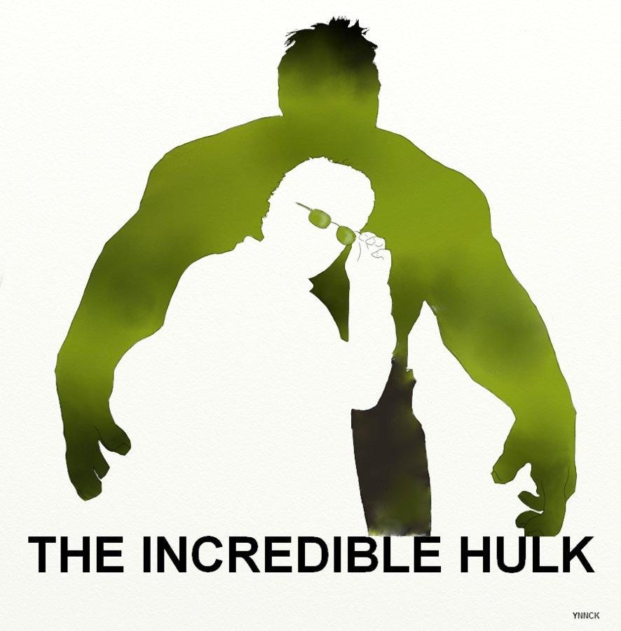 886x901 The Incredible Hulk Avengers By Ynnck
