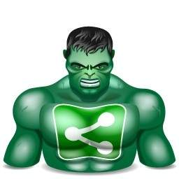 256x256 The Incredible Hulk Vector Logo Free Vector Free Download