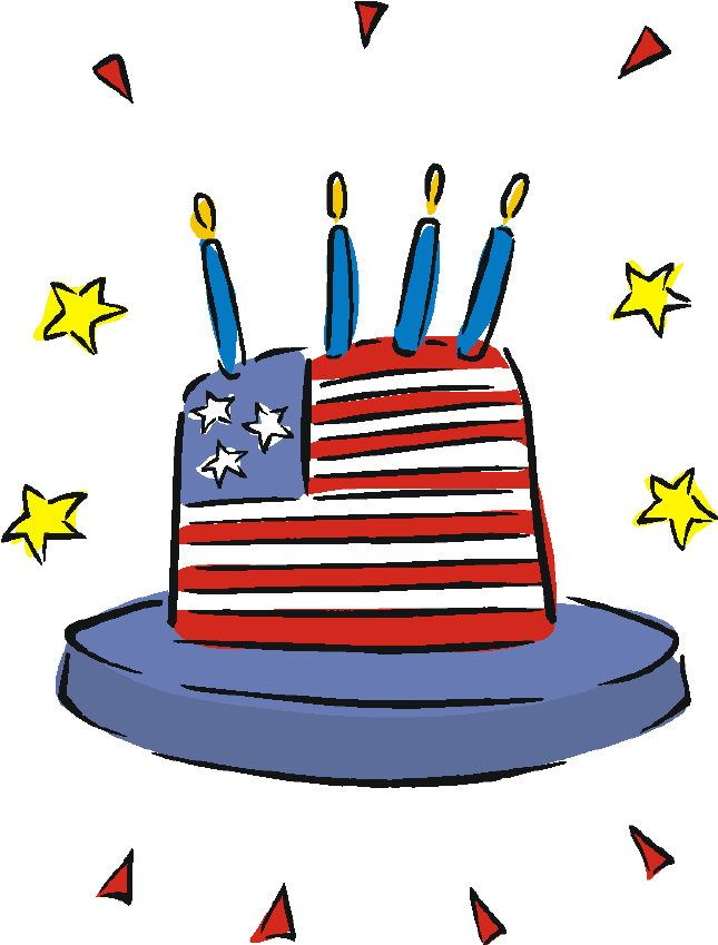 645x849 134 Best 4th Of July Clip Art Images On Clip Art, July