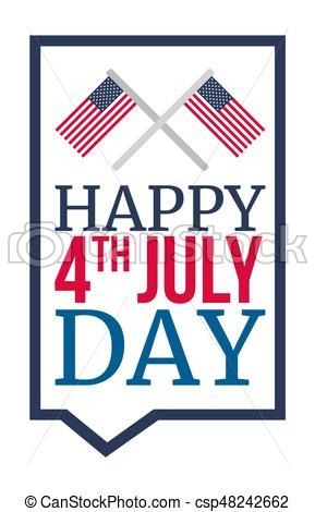 289x470 4th Of July Usa Independence Day Celebraion Banner. National
