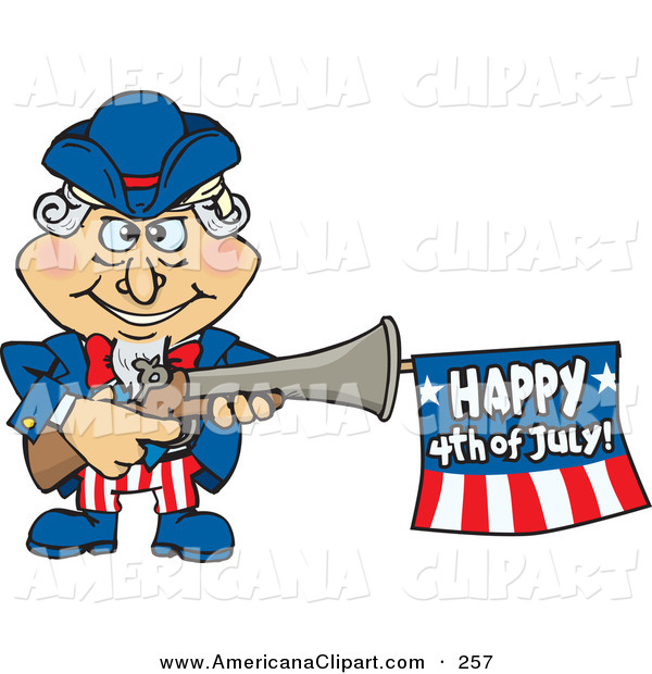 600x620 Americana Vector Clip Art Of A Smiling Uncle Sam Shooting