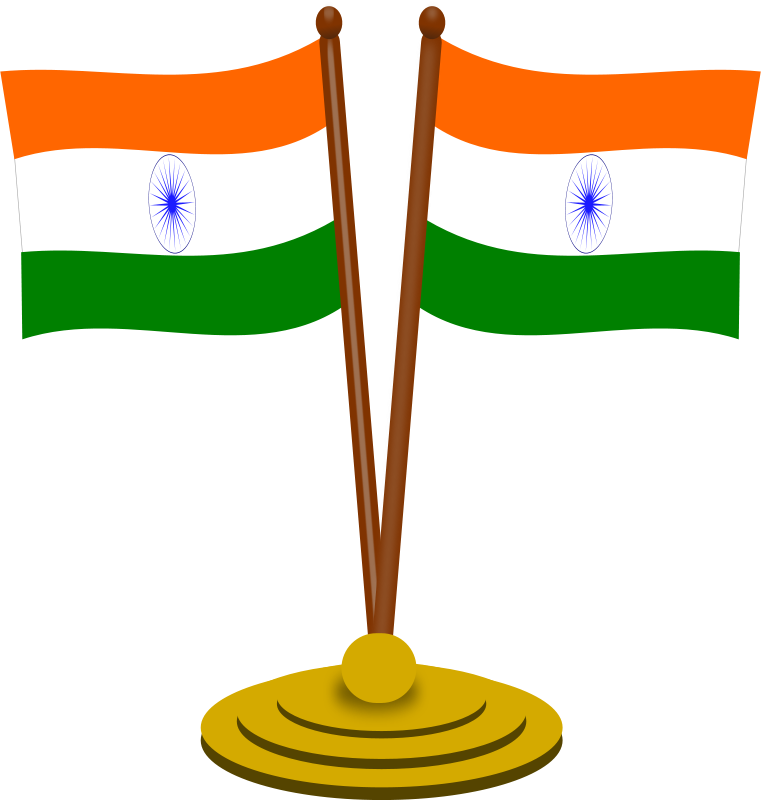 761x800 Free Clipart Indian Flag 2 Gsagri04