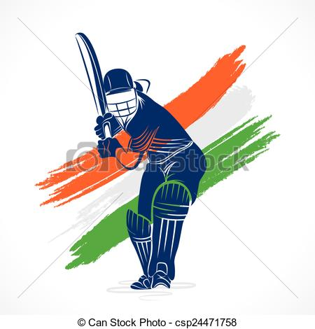 450x470 India Clipart Baseball