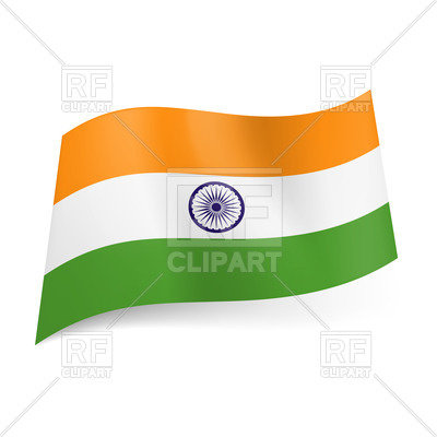 400x400 National Flag Of India Royalty Free Vector Clip Art Image