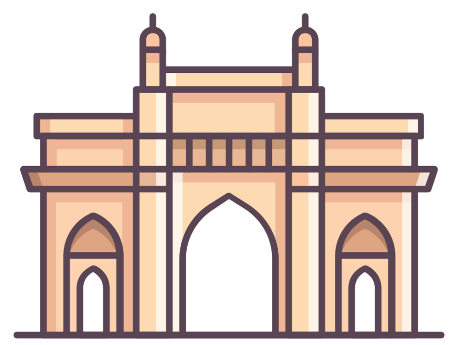 India Gate Clipart