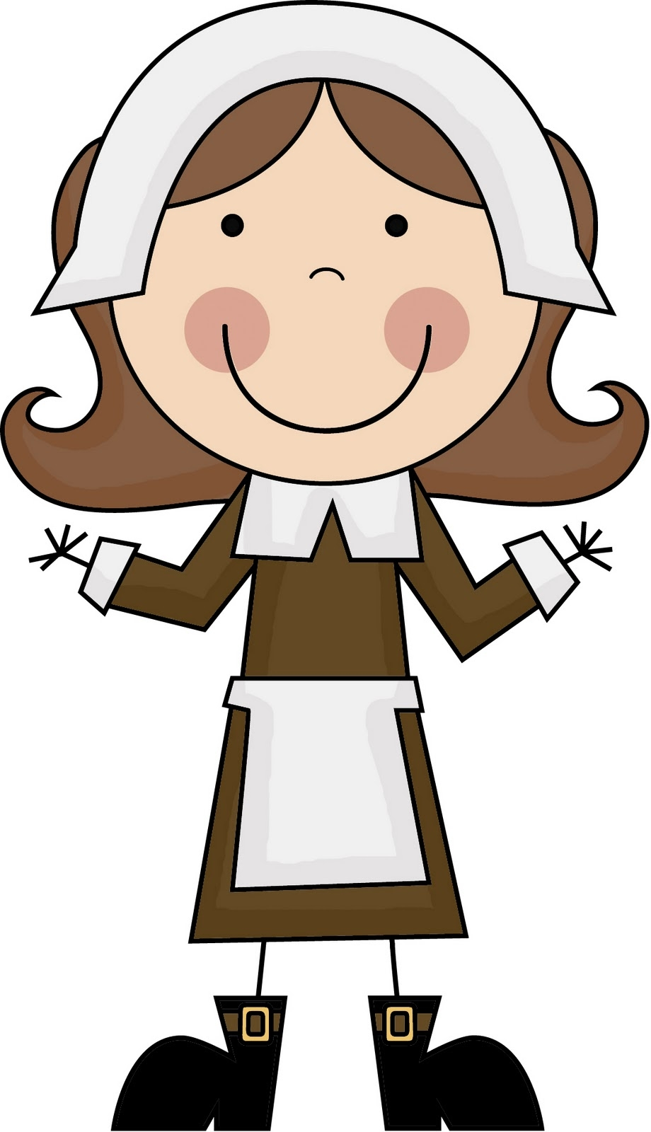 920x1600 Fresh Pilgrim Clipart Design