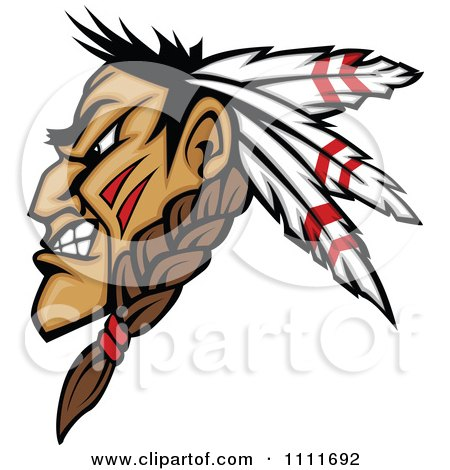 450x470 Clipart Of Muscular Strong Nativemerican Indian Man Lifrting