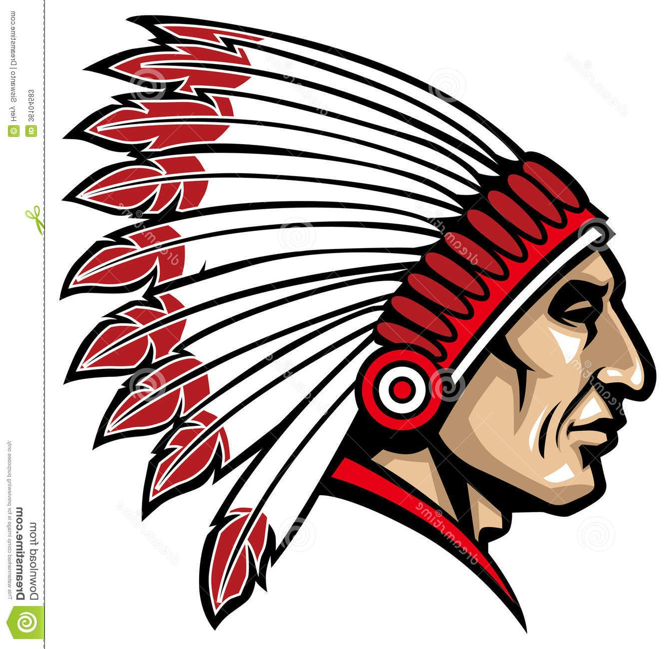 1345x1300 Indian Chief Clipart Many Interesting Cliparts