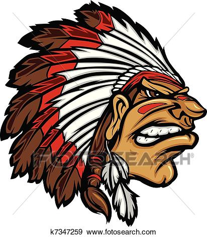 412x470 Gallery Clip Art Indian Chief Head,