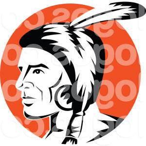 300x300 Indian Mascot Jpeg Vector Graphics Head Clipart Free Download Clip