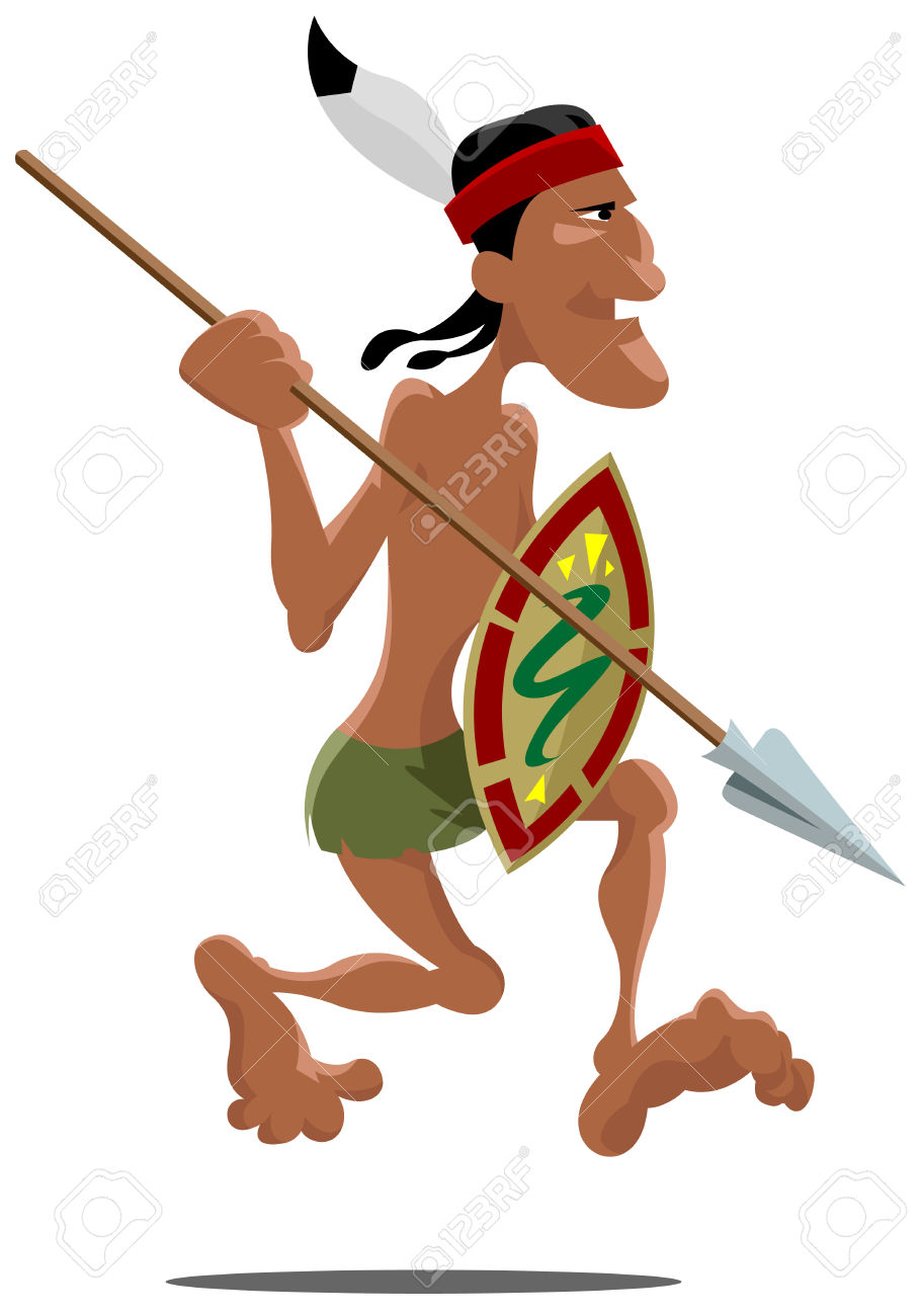 910x1300 Aztec Indian Clipart