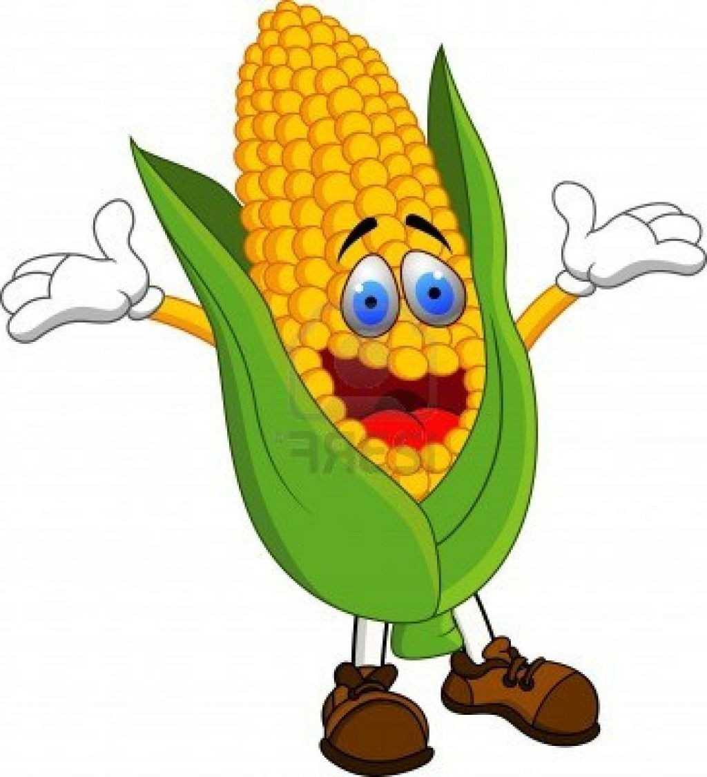 1024x1125 Corn On A White Background Vector Clip Art Royalty Free Cliparts