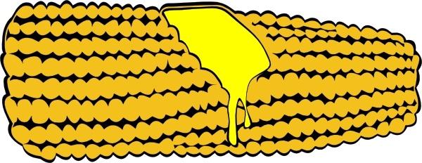 600x232 Drawn Corn Cob Clip Art