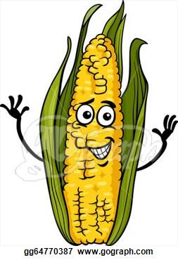 253x370 Funny Corn Clipart