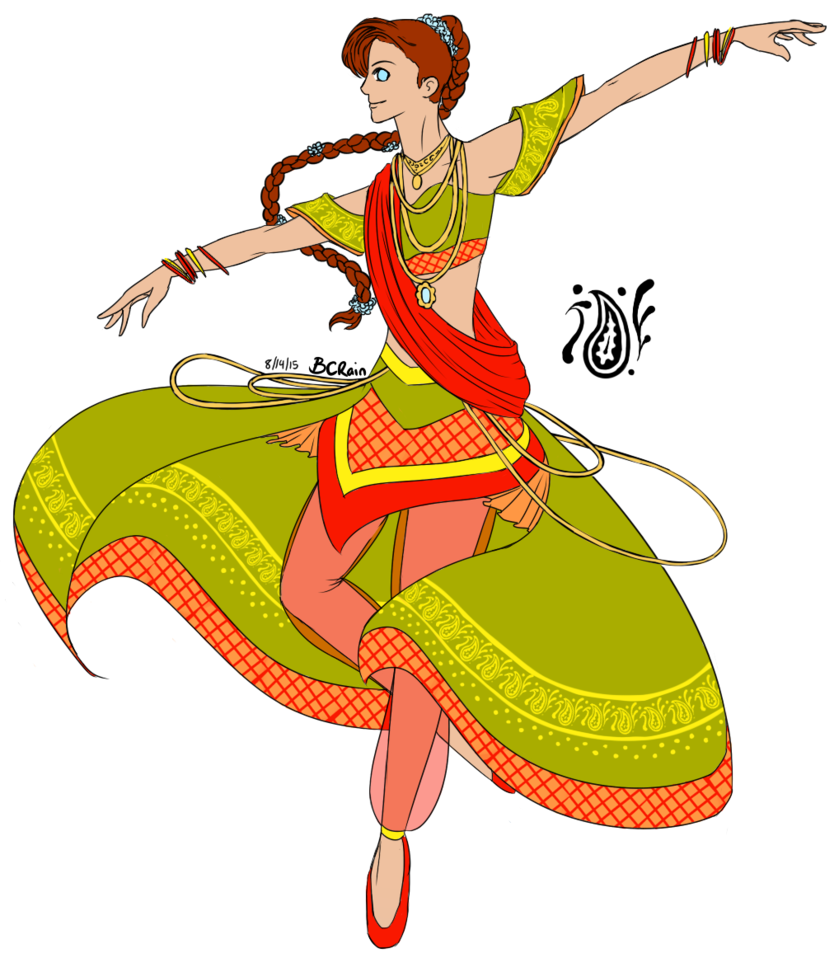 Indian Dance Clipart