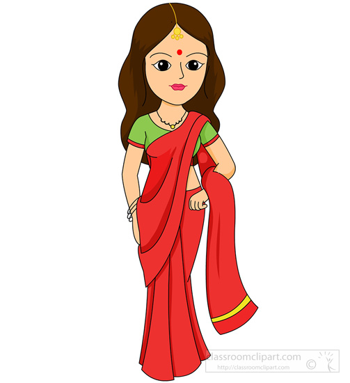 503x550 Clipart Woman Indian Clipart Woman Clipartfest Cliparting Download