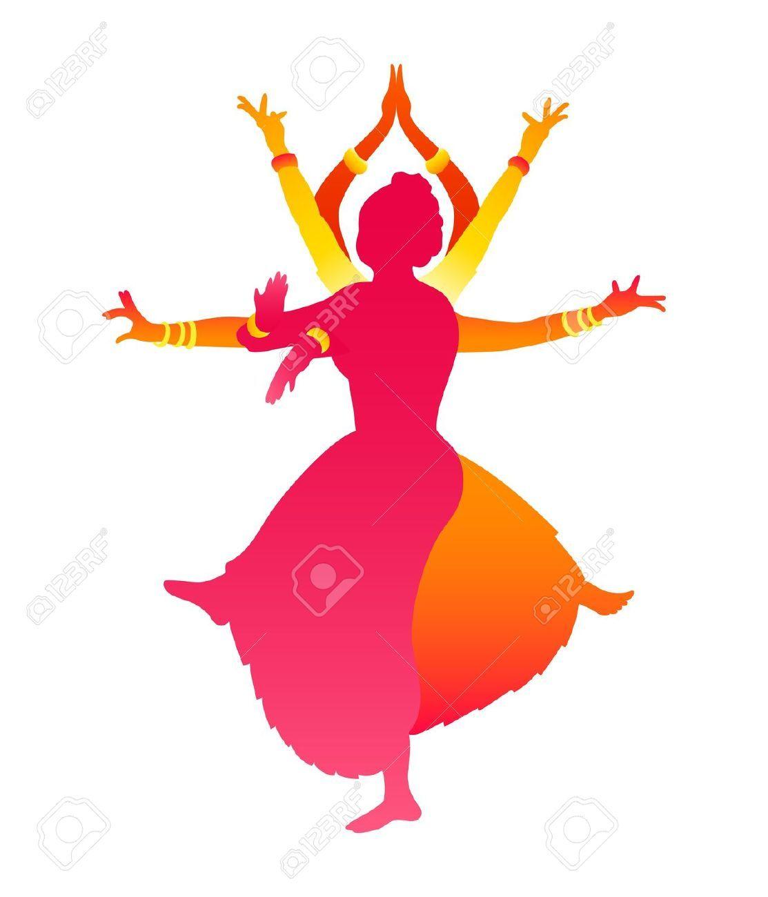1113x1300 Colorful Classic Indian Female Dance Bharatanatyam Royalty Free