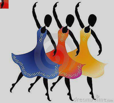 400x360 Indian Group Dance Clipart