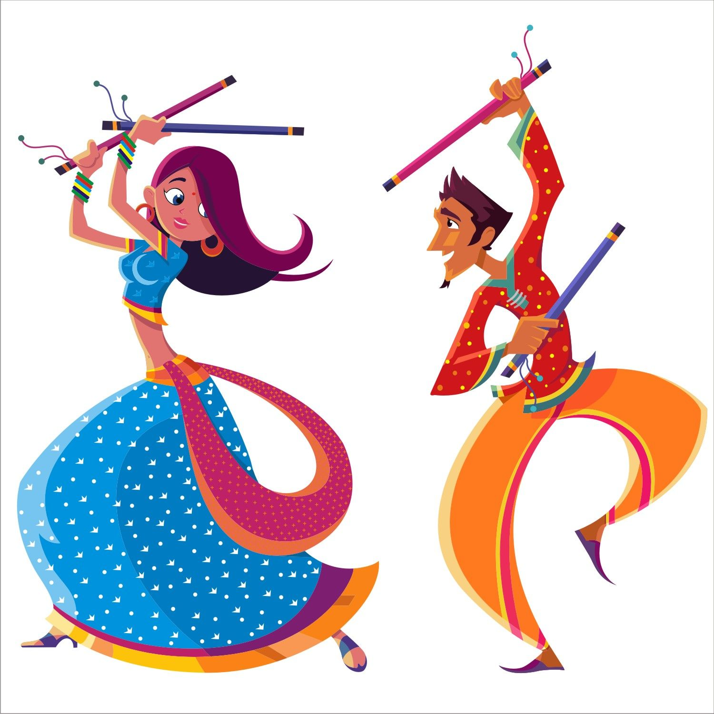 1500x1500 The Spirit Of The Dandiya Dance, As Part Of The Navratri Festival