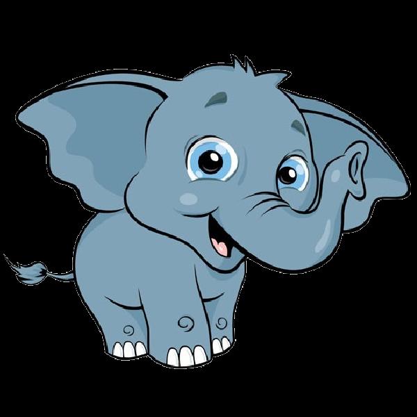 600x600 Cute Elephant Clipart Free Download Clip Art