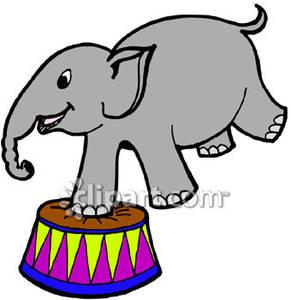 291x300 Circus Elephant Clipart
