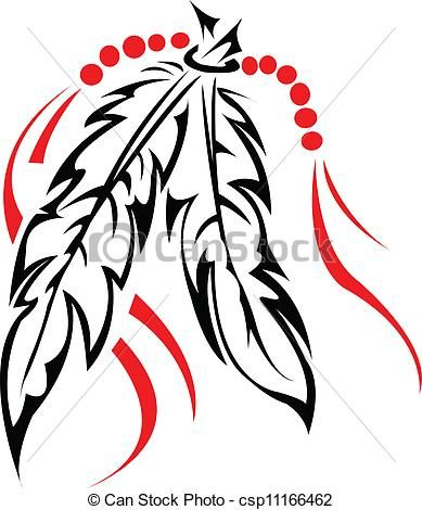 389x470 Tribal Feather Clip Art , Stock Clip Art Icon, Stock Clipart