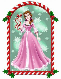 236x306 Collection Of Princess Christmas Clipart High Quality, Free