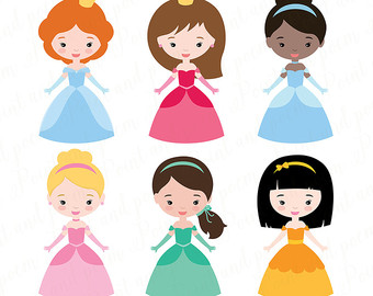 340x270 Princess Clip Art Fairytale Princess Clip Art Cute Little