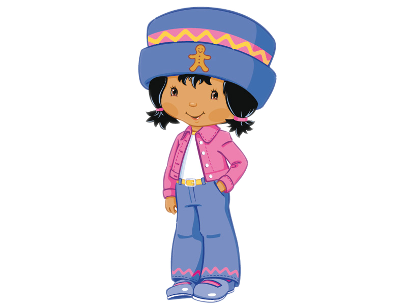 800x600 Strawberry Shortcake Princess Clipart