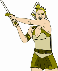 Indian Warrior Clipart
