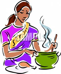 Indian Woman Clipart