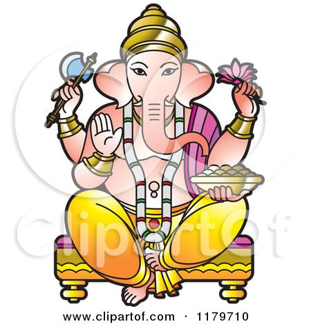 450x470 Hindu God Clipart Colour
