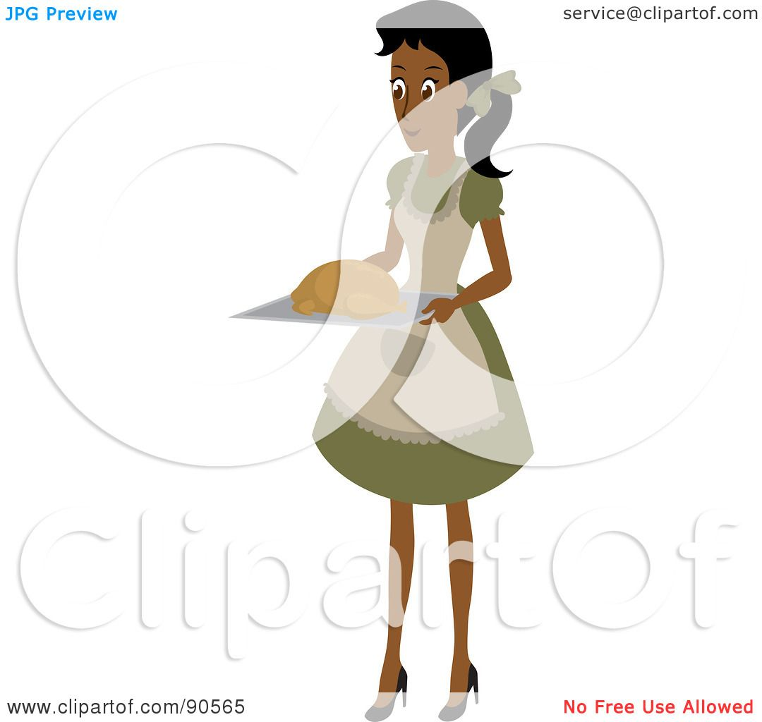 1080x1024 Royalty Free (Rf) Clipart Illustration Of An Indian Or African