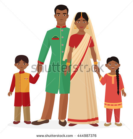 450x470 Traditional Costume Clipart Indian Lady 4005481