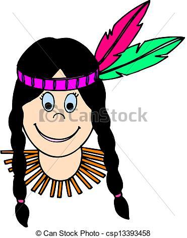 371x470 Woman Native American Indian