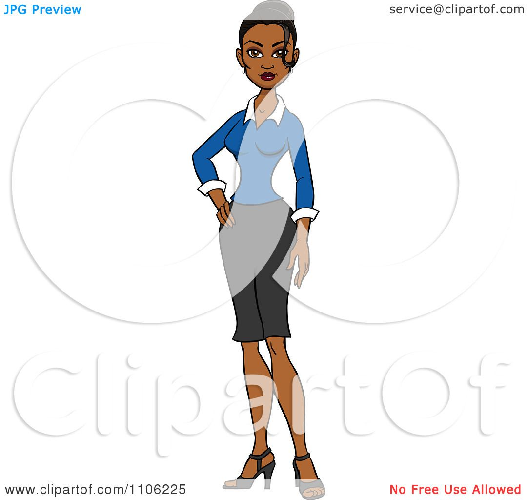 1080x1024 Clipart Proud Professional Indian Business Woman Posing