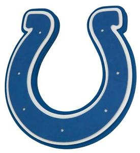 275x300 Indianapolis Colts 3d Fan Foam Logo Sign Picture, Nfl Football