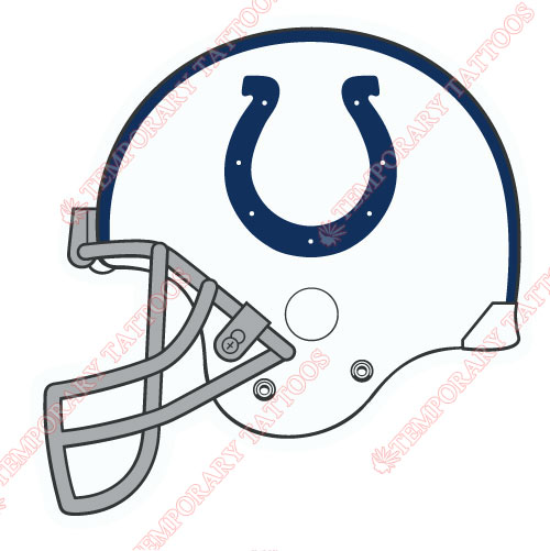 500x501 Indianapolis Colts Temp Tattoos Customize Temporary Tattoos,kids