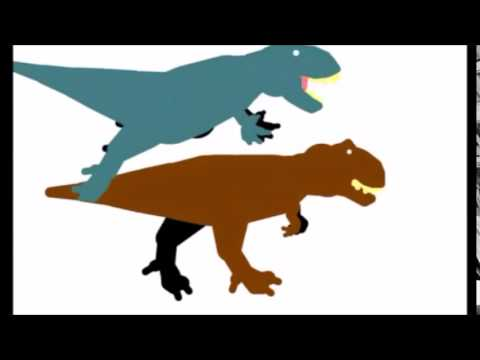480x360 Tirano Rex Tyrannosaurus Vs Indominus Rex Resounded