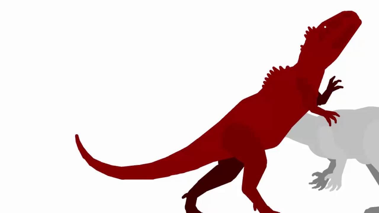 1280x720 Giganotosaurus Carollini(Dinocrisis2) Vs Indominus Rex