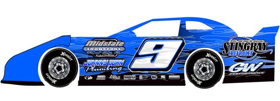 553x200 Dirt Race Car Clipart