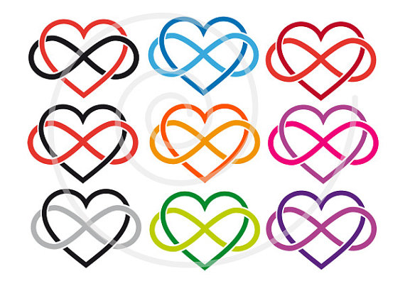 570x403 15 Hearts Clip Art With Infinity Sign Never Ending Love Love