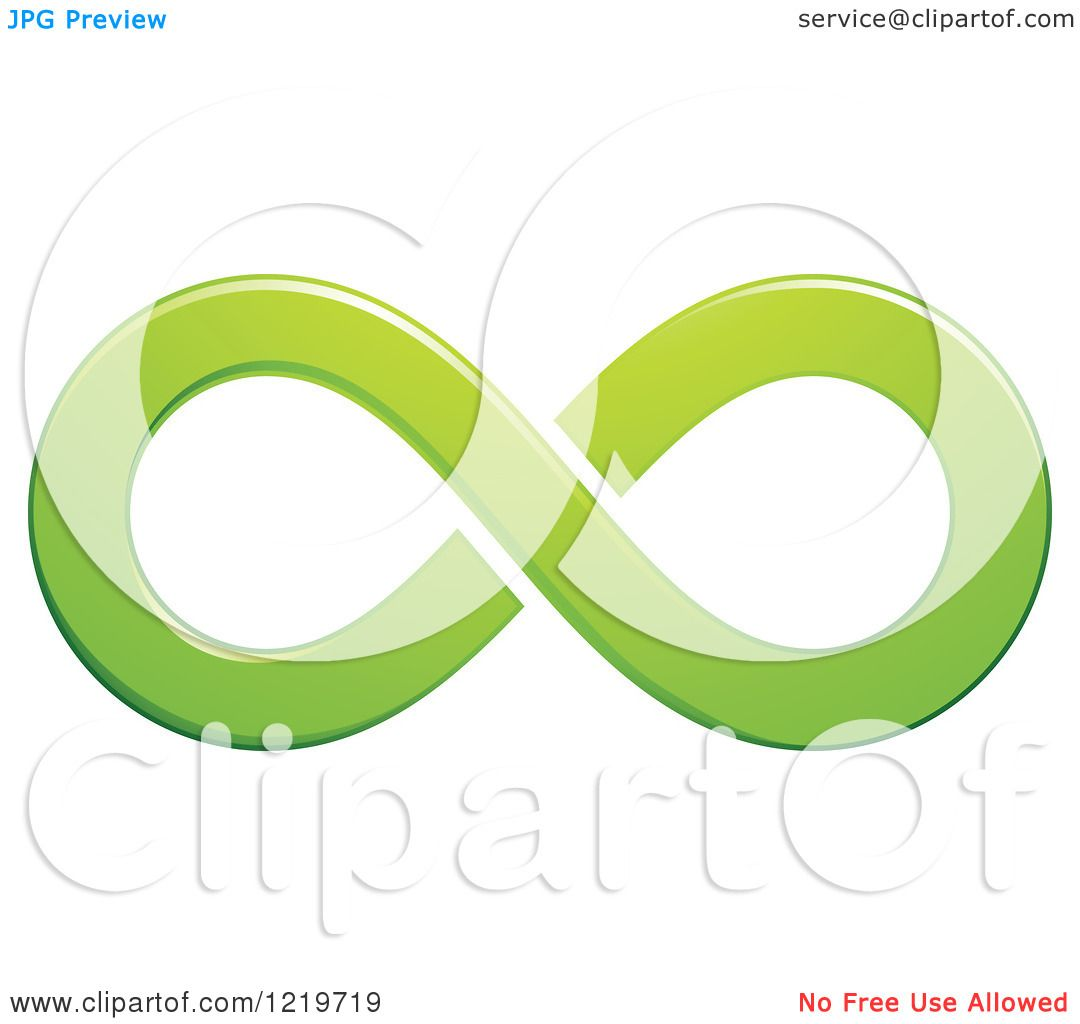 1080x1024 Clipart Of A Green Infinity Symbol