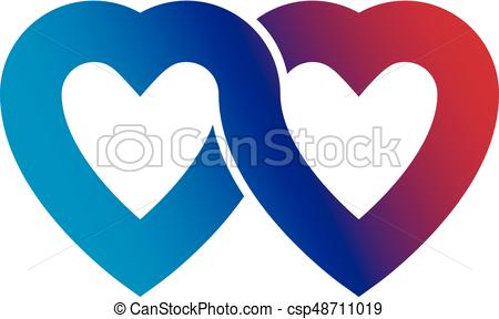 450x288 Everlasting Love Concept, Vector Symbol Created With Vector