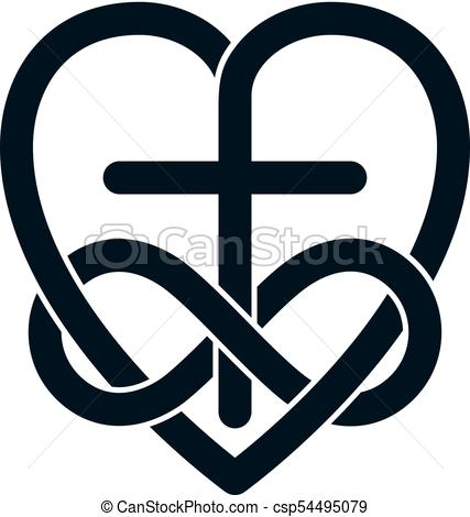 427x470 Immortal Love Of God Conceptual Symbol Combined With Vectors