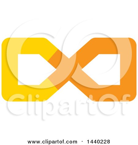 450x470 Royalty Free (Rf) Clipart Illustration Of A Black Infinity Symbol
